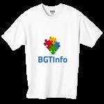 T-Shirt with BGT Info Logo
