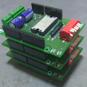 Arduino Stepper motor controller shield